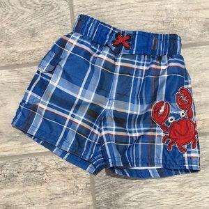 OshKosh B'gosh Crab swim trunks
